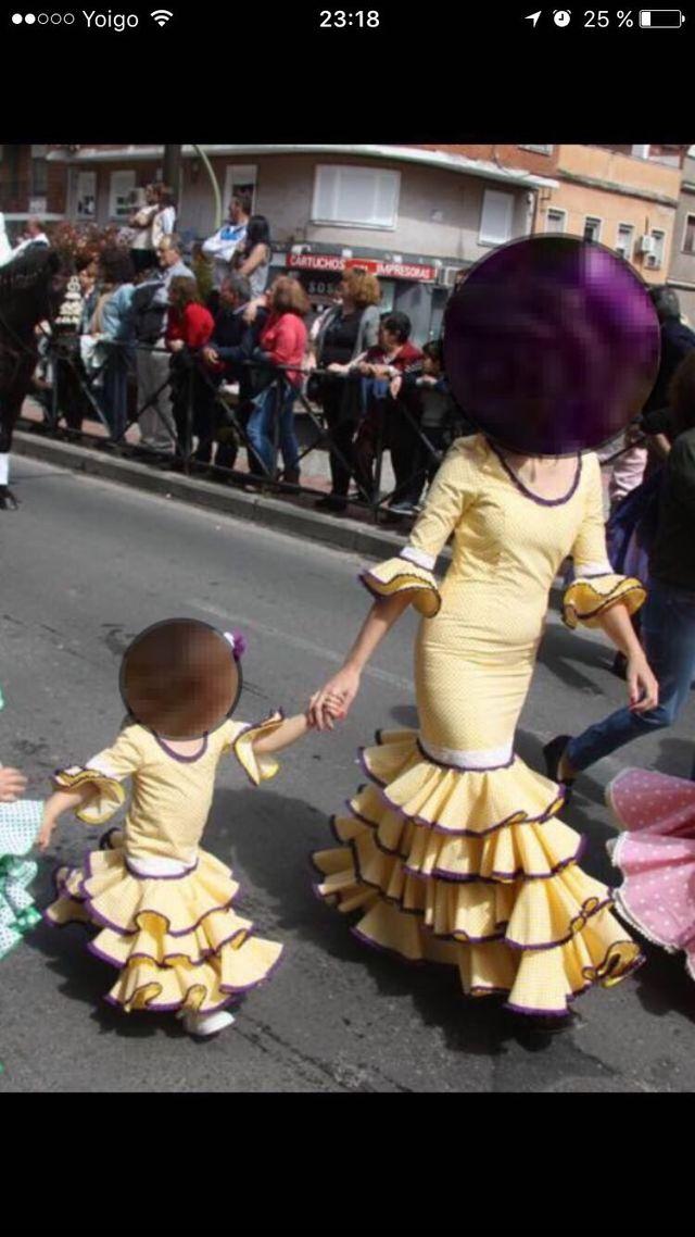 Vestidos sevillanas madre/hija
