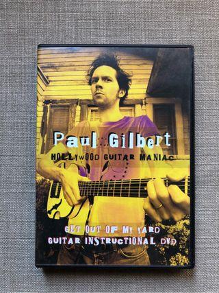 Video instructivo guitar Paul Gilbert Get out DVD
