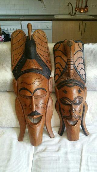 Máscaras de madera