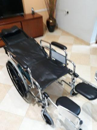 silla de ruedas articulada