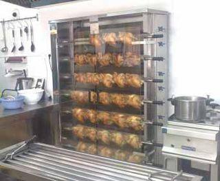 asador de pollo