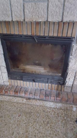 caja de chimenea