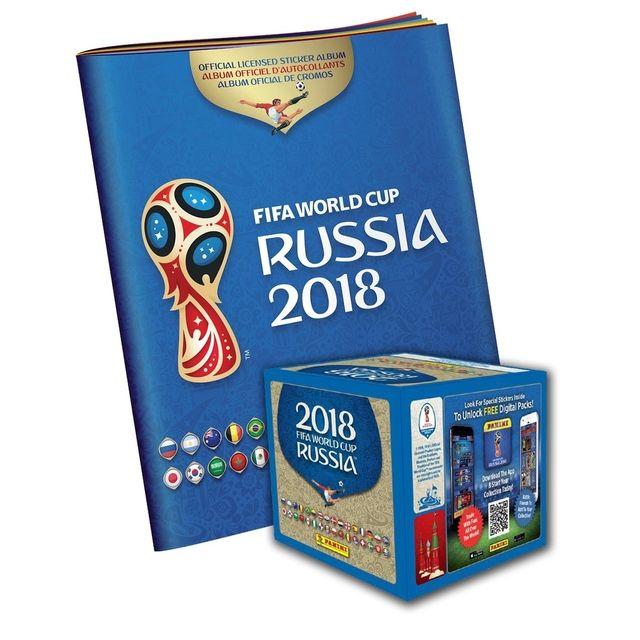 Cromos Russia 2018 mundial panini stickers