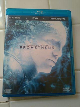 Prometheus - Blu-ray - Solo el blu-ray