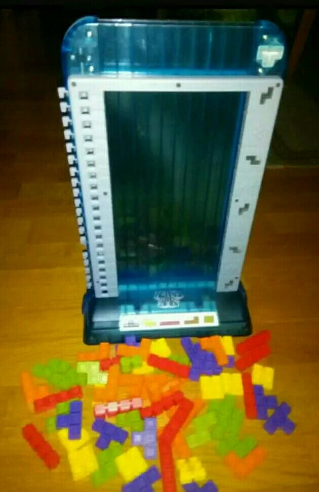 Tetris tower 3D