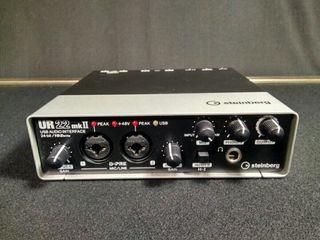 Tarjeta de sonido Steinberg ur-22
