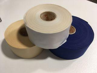 Rollos cinta de algodon.