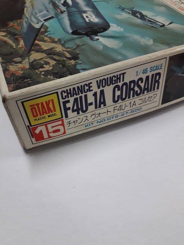 Maqueta Otaki F4U-1A CORSAIR N. 15