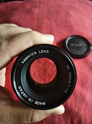 Yashica ML 50mm f1.1.4 Envío incluido en precio