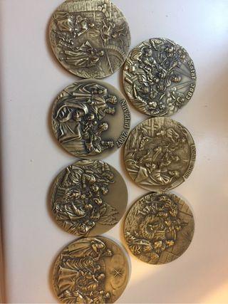 Medallas Del Misterio navidad