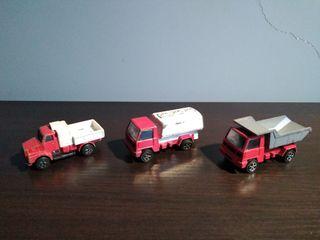camiones a escala