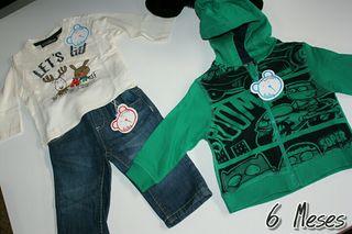 Lote ropa bebe niño