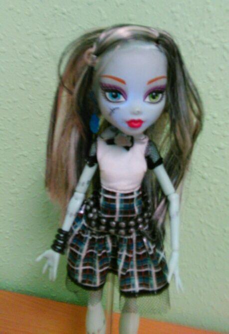 Muñeca Monster High Frankie Stein.