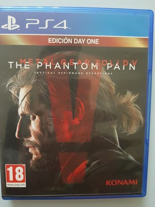 metal gear solid the phantom pain ps4