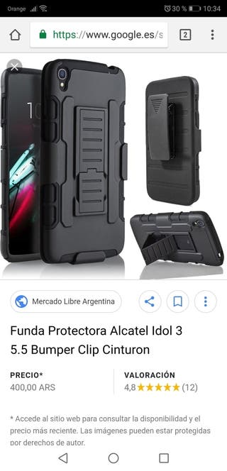 Funda alcatel idol 3