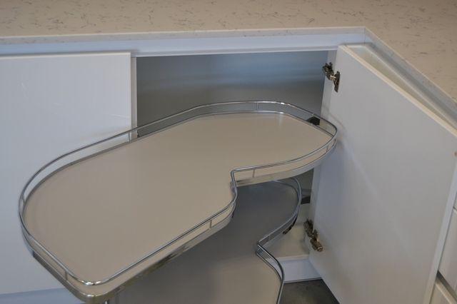 Estantería extraíble para mueble rinconero cocina de segunda mano ...