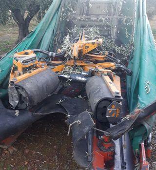 vibrador recolector olivos