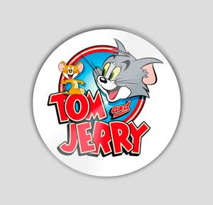 Slipmat Tom And Jerry 2