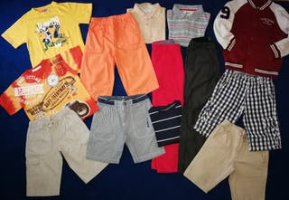 Lote de ropa niño talla 6 años