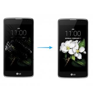 Cambio de pantalla LG