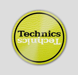 Slipmat Technics Cuero Lima