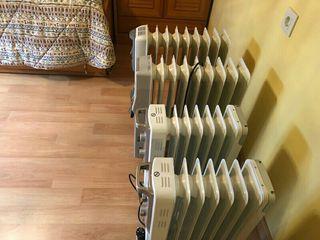 4 radiadores electricos
