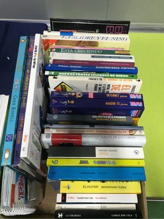 Libro infantil, Juvenil y para adultos