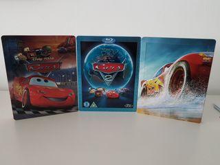 steelbook cars cars 2 y cars 3 disney