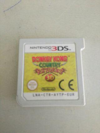 Donkey Kong juego Nintendo 3DS