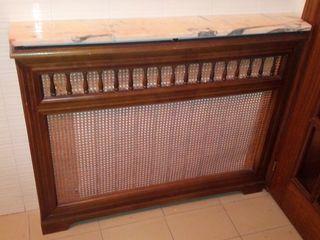 cubre radiador vintage