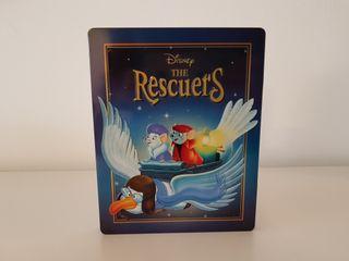 steelbook los rescatadores disney