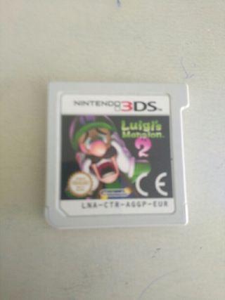 Luigi mansión 2 juego Nintendo 3DS