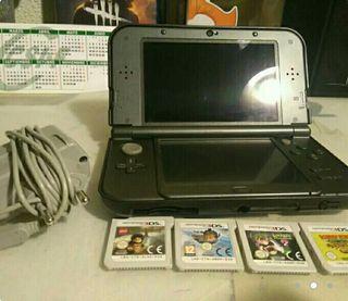 Cambio o vendo New Nintendo 3ds xl conjuegos nueva