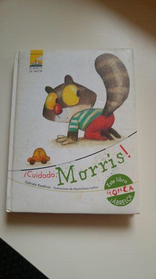 Cuidado Morris libro infantil