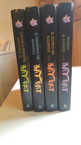 Libros gruesos Bat Pat