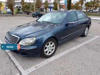 Mercedes-Benz Clase S 320 CDI 204cv impecable 2003