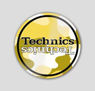 Slipmat Technic Camuflaje Amarillo