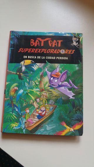 Libro Bat Pat superexploradores