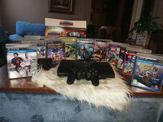 Consola ps3 juegos etc..