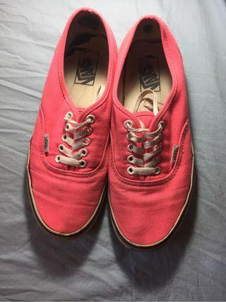 Zapatillas vans rosa