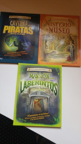 Libros de aventuras matemáticas