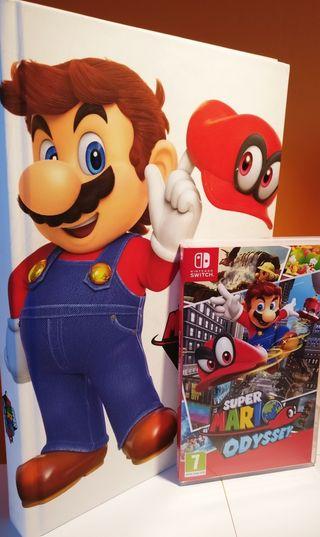Super Mario Odyssey (Switch) + Guía coleccionista