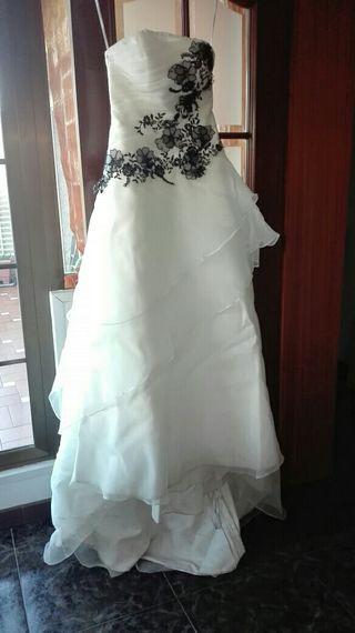 vestido de novia de segunda mano en sant adrià de besòs en wallapop