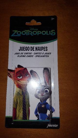 baraja Zootropolis Disney Fournier nueva