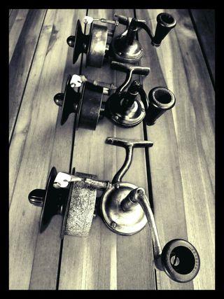 Carretes Antiguos Pesca