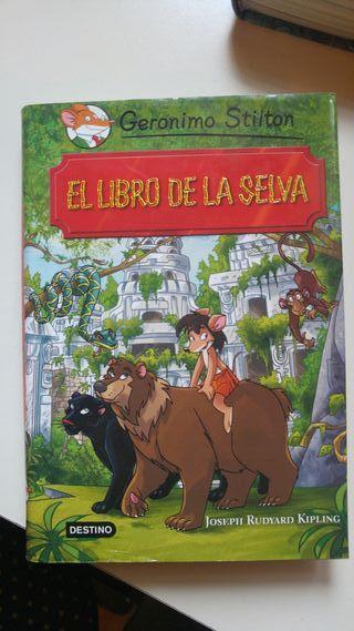 Gerónimo Stilton y el libro de la selva
