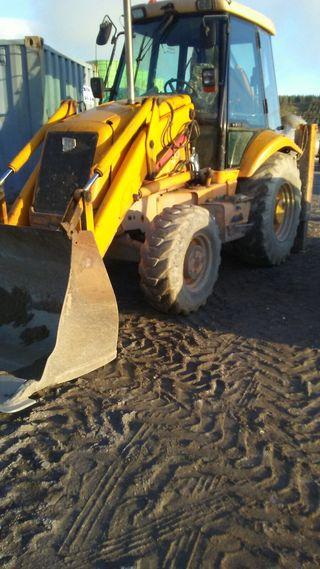 Pala excavadora 3cx