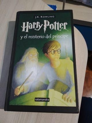 libro HARRY POTTER 6