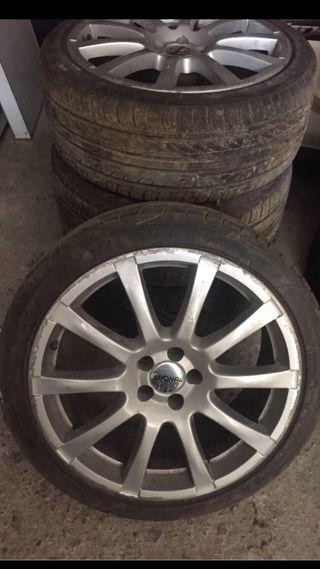 """Llantas aluminio Audi B5 18"""" 5X100"""