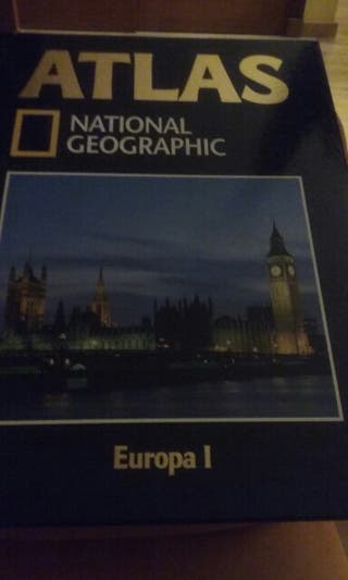 "Libro ""Altas"" National Geographic"